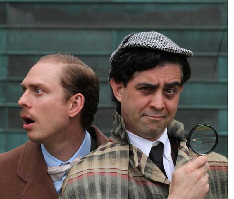 PHOTO BY TRAVIS NODURFT - Clackamas Repertory Theatre opens the comedy Baskerville: A Sherlock Homes Mystery beginning June 28.