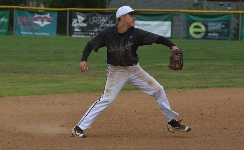 TIMES FILE PHOTO - Southridge senior Kyle Temme was named first-team all-Metro League infielder for the Skyhawks.