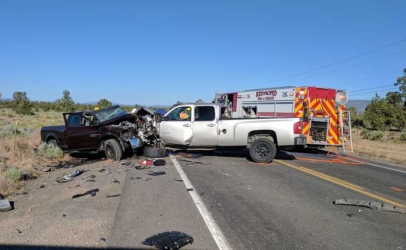 PHOTO COURTESY OF OREGON STATE POLICE - Kelsey Dixon reportedly hit a stopped patrol vehicle at highway speed, injuring an officer and another motorist.