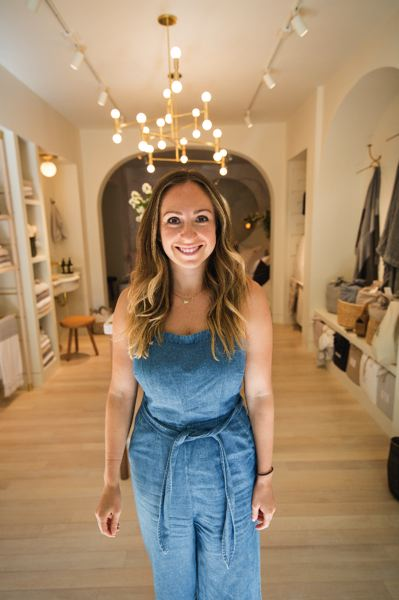 PAMPLIN MEDIA GROUP: ADAM WICKHAM, JOSEPH GALLIVAN - Ariel Kaye, Owner and CEO of bedding store Parachute, opened her second branch in Portland to go after customers who need more than an online store to make a decision about fine bedding and towels.