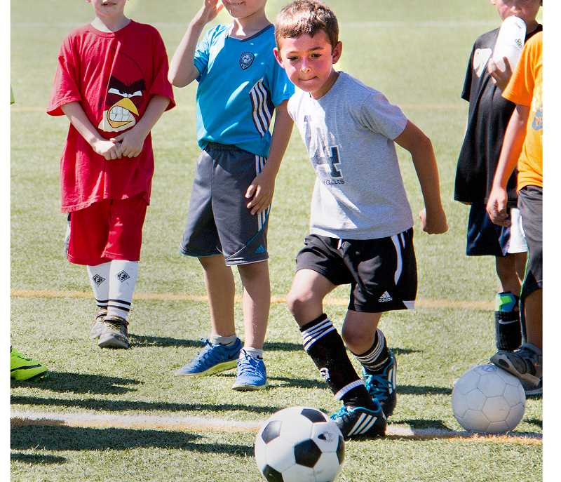 PHOTO COURESY OF GFU - PHOTO courtesy of GFuGeorge Fox will host the third annual Bruin Sports Day Aug. 23 by hosting 11 different youth sports clinics