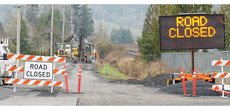 GRAPHIC FILE PHOTO - Construction on two developments near the corner of Chehalem Drive and North Valley Road, if approved, will likely mean more delays for motorists.