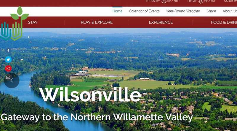 WWW.EXPLOREWILSONVILLE.COM - ExploreWilsonville.com provides visitors and new residents with a central clearinghouse on local tourism attractions, major community events and hospitality businesses.