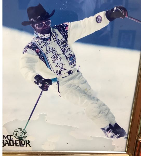 COURTESY: PAUL KNAULS - One of the skills Paul Knauls learned over the years was how to handle himself on the slopes, and he used to teach skiing to supplement his income.