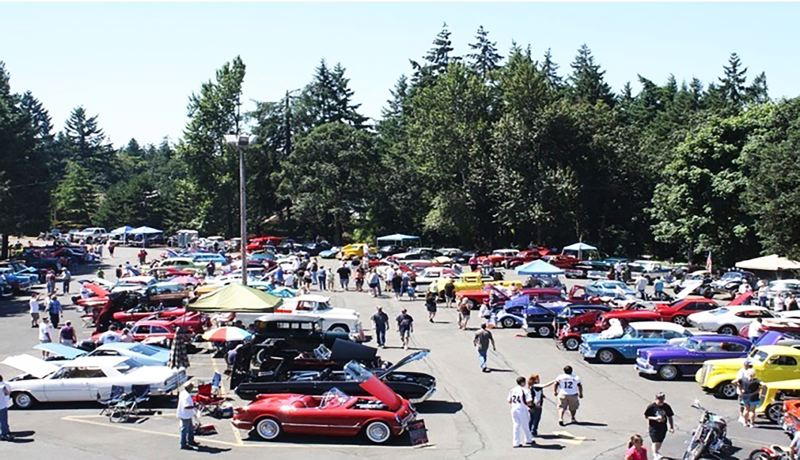 PHOTO COURTESY: ST. HELENS ELKS LODGE 1999 - Car collectors and admirers will have a chance at dash plaques, awards and raffle prizes at the 10th St. Helens Elks Cruise-In on July 29 at 350 Belton Road.