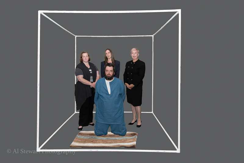 COURTESY AL STEWART PHOTOGRAPHY, TUALATIN - The cast of 'Two Rooms' includes Leslie Inmon, Lesley Nadwodnik, Sharon Gavin and Michael Allen. The show opens Friday, July 14.