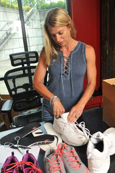 Krista Taylor, Protalus philanthropy coordinator, connected with Andre McDonnell, founder of the nonprofit Its From the Sole. He will come to Portland later in July to help distribute shoes to homeless people on the streets and at Portland Rescue Mission.