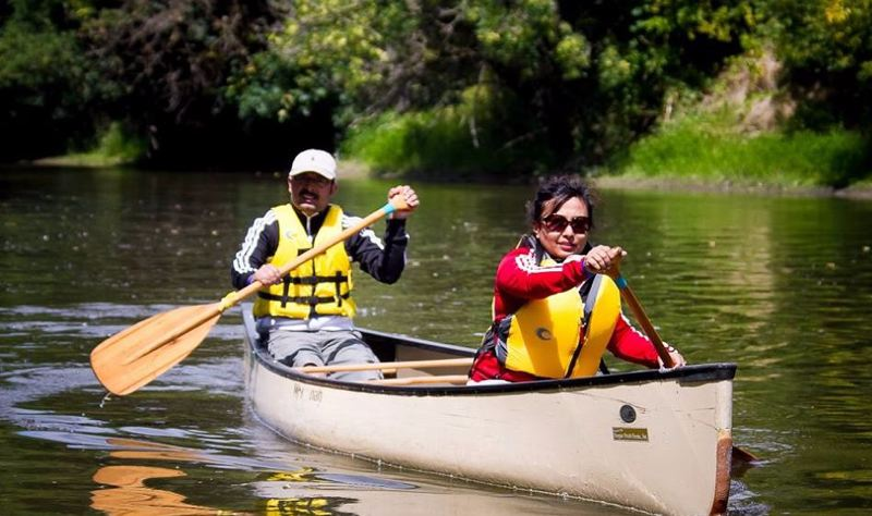 COURTESY COLUMBIA SLOUGH WATERSHED COUNCIL - More than 500 people can get free use of canoes and kayaks at the annual regatta.