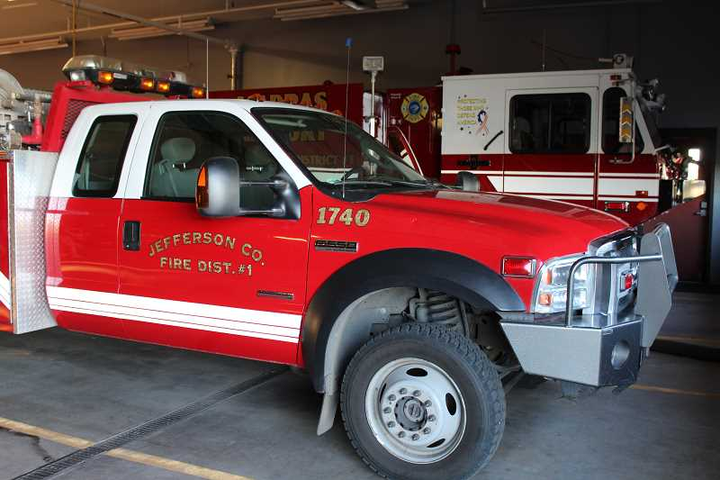 HOLLY M. GILL - Fire department equipment was out in force on June 28, for several fires.
