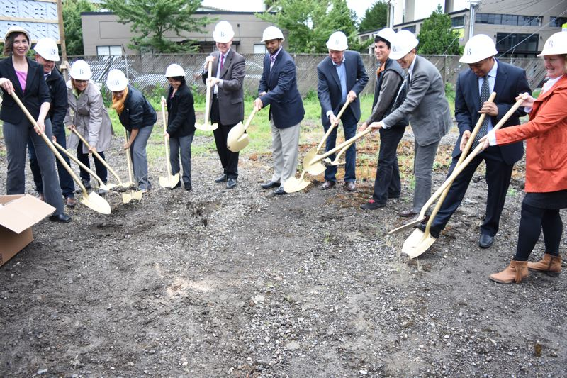 SUBMITTED: BREMIK CONSTRUCTION - Bremik broke ground on a $21 million affordable housing development at Northwest 14th and Raleigh in mid-June, and subcontracted 92 percent with certified minority, women and emerging small businesses (MWESBs).
