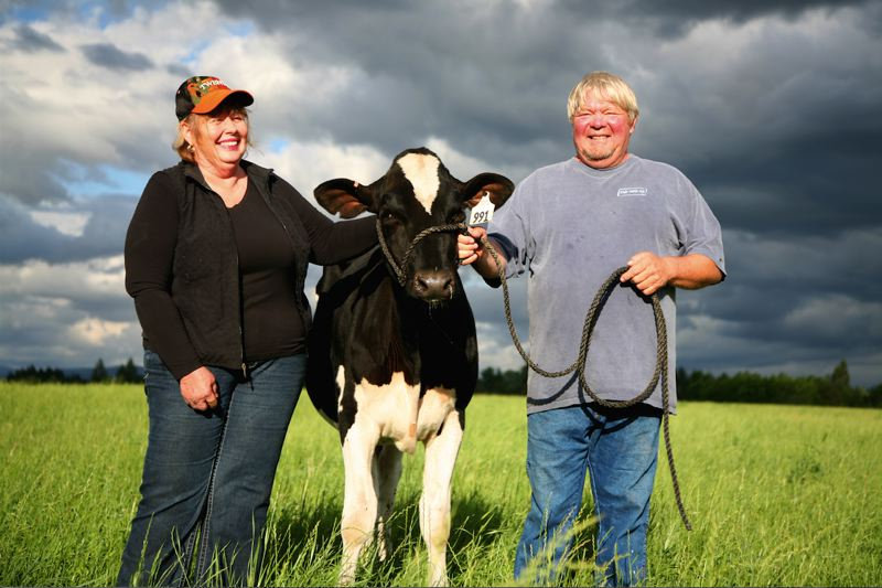 COPYRIGHT DAVID NEVALA FOR ORGANIC VALLEY - Cloud Cap Farm has been a family affair in Boring for 93 years.