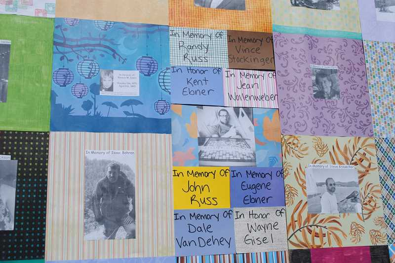 Photos and messages memorialize beloved cancer fighters.