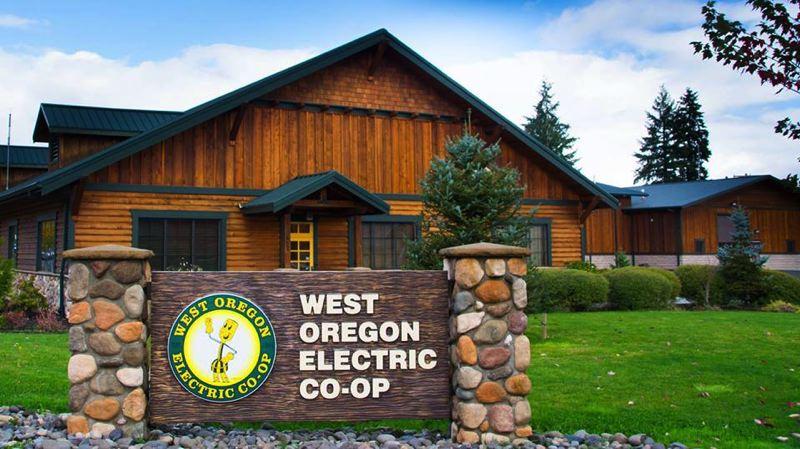 WEST OREGON ELECTRIC CO-OP PHOTO - West Oregon Electric Co-Op, which services residents off Scappoose-Vernonia Highway in Chapman, planned a four-day outage to do maintenance on its Chapman substation from July 11-14.