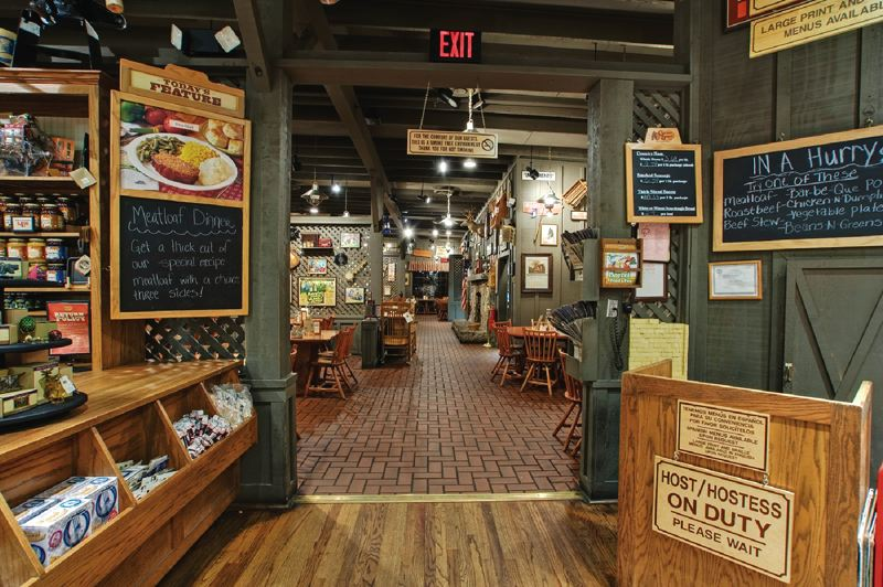 COURTESY: CRACKER BARREL OLD COUNTRY STORE - Coming to Beaverton next: One of the company slogans is Cracker Barrel locations are half restaurant, half retail, and all country.