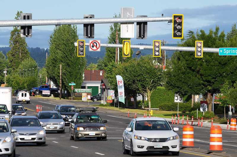 GARY ALLEN - ODOT has announced U-turns will no longer be permitted from southwest-bound Highway 99W at Springbrook Road. The change is reportedly safety-related as the intersection's southbound turn lane becomes the point where non-local traffic heads toward the Newberg-Dundee bypass.