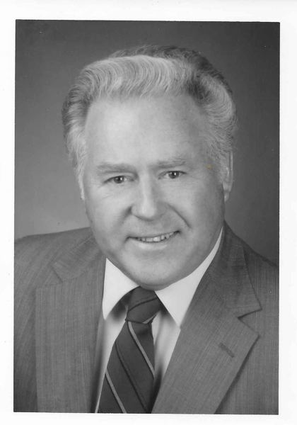 SUBMITTED PHOTO - Don Andersen soon after he joined the Oregon City School Board in 1992.