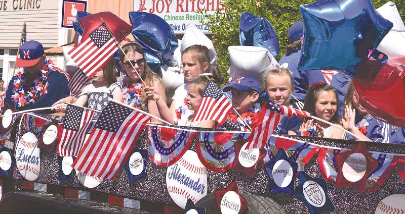 JOHN BAKER - This year's Canby Independence Day Celebration is believed to have set an attendance record.