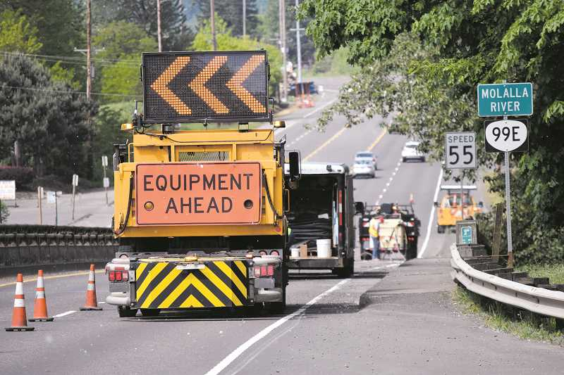 DANIEL PEARSON - The last time Canby saw work being done on the Molalla River Bridge was in May, as ODOT work crews prepped the bridge for the work that was eventually to follow. Well, that work is about to happen later in July.