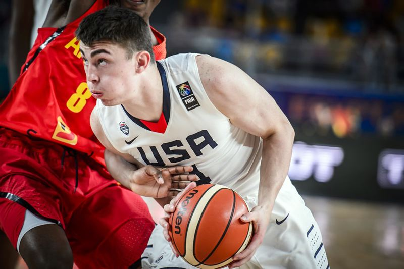 COURTESY: FIBA - Payton Pritchard, a returning starter for the Oregon Ducks, improved throughout the U-19 World Cup and made the all-tournament team.