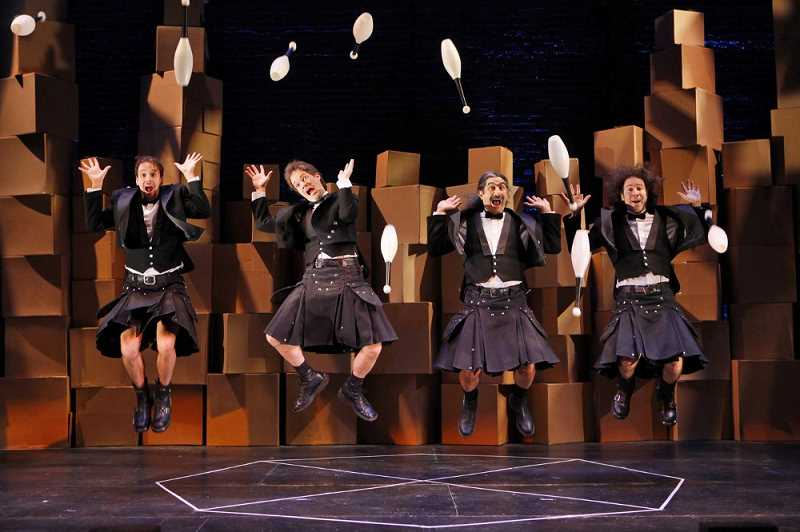 SUBMITTED PHOTO - The Flying Karamazov Brothers are among the 30 performers coming.