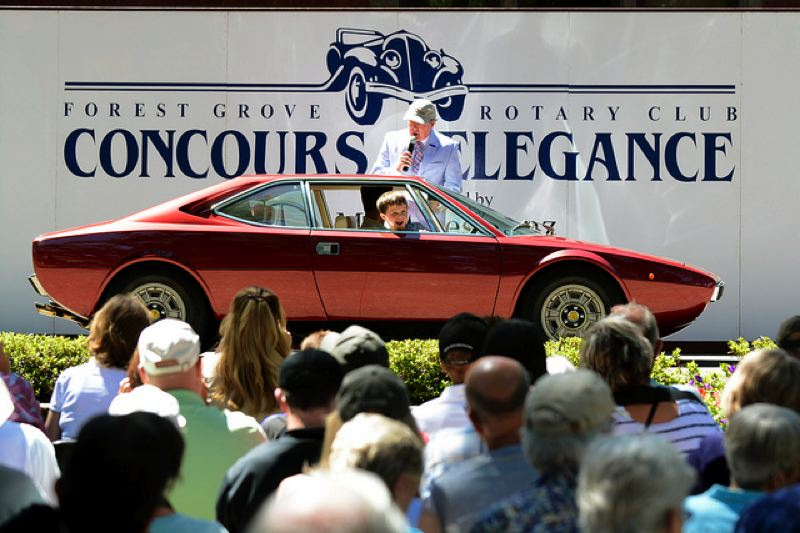 COURTESY PHOTO - Classic cars, big crowds and (hopefully) lots of sunshine will be the order of the day at the 45th Concours d'Elegance on Sunday, July 16.
