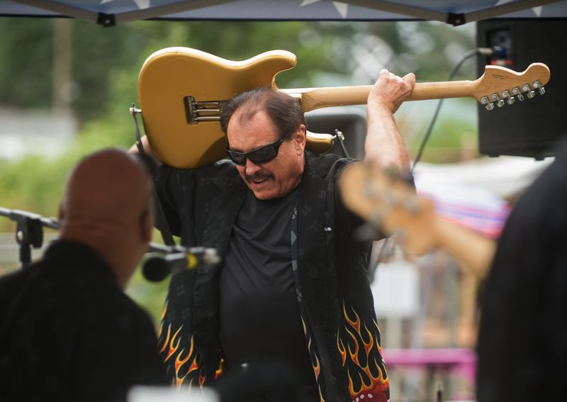 FILE PHOTO - Local band Ron Reudi and the Hurricanes will provide live music at this year's festivities.