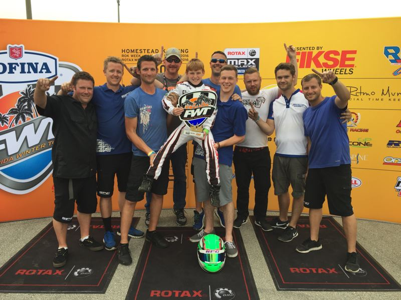 SUBMITTED PHOTO - Josh Pierson won the Rotax MAX Challenge United State Grand Nationals title in the minimax division.