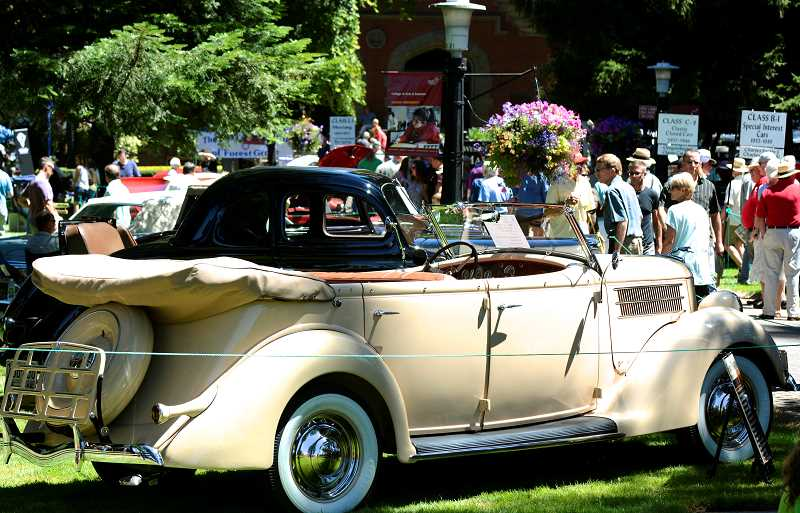 SUBMITTED PHOTO - More than 300 automobiles are expected in this years car show, a Forest Grove tradition for more than four decades.