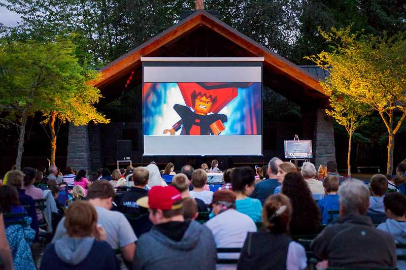 SUBMITTED PHOTO  - Bring your blanket, pillow and low sand chairs to watch the weekly free Movies in Millennium Plaza Park Thursdays beginning July 20.