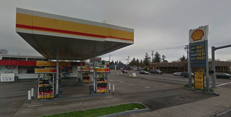 COURTESY GOOGLE MAPS - A Shell gas station is shown here at 18031 S.E. Stark Street in Gresham.