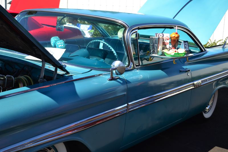 POST PHOTO: BRITTANY ALLEN - Multiple entrants spruced up their rides with some thematic decorations.