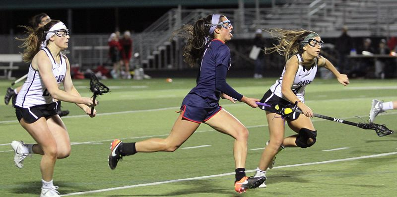 REVIEW FILE PHOTO - Lake Oswego's Lauren Gilbert was named to the All-American, first-team all-state and first-team all-Three Rivers League teams after her standout senior season.