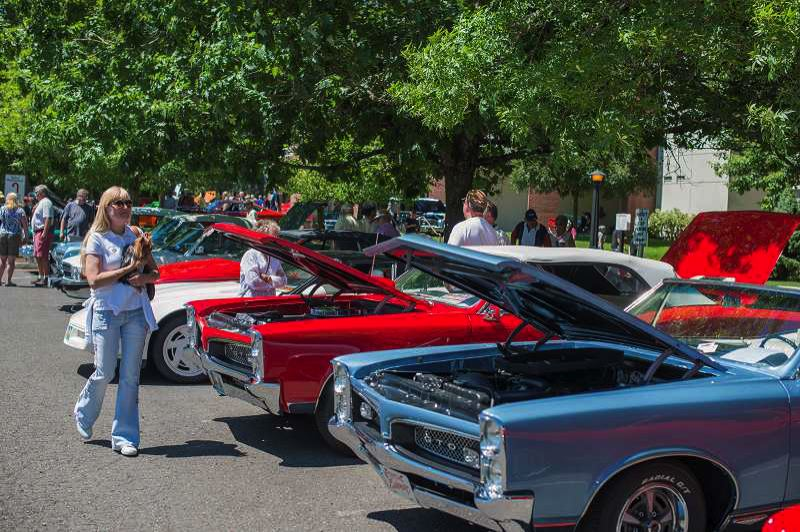 FILE PHOTO - Saturday's Cruis'n event is a kickoff to the annual Concourse d'Elegance in Forest Grove.