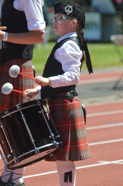 OUTLOOK PHOTO: CLARA HOWELL - Scottish music plays throughout the Portland Highland Games event.