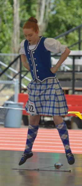 OUTLOOK PHOTO: CLARA HOWELL - Scottish dancers compete in judged competitions.