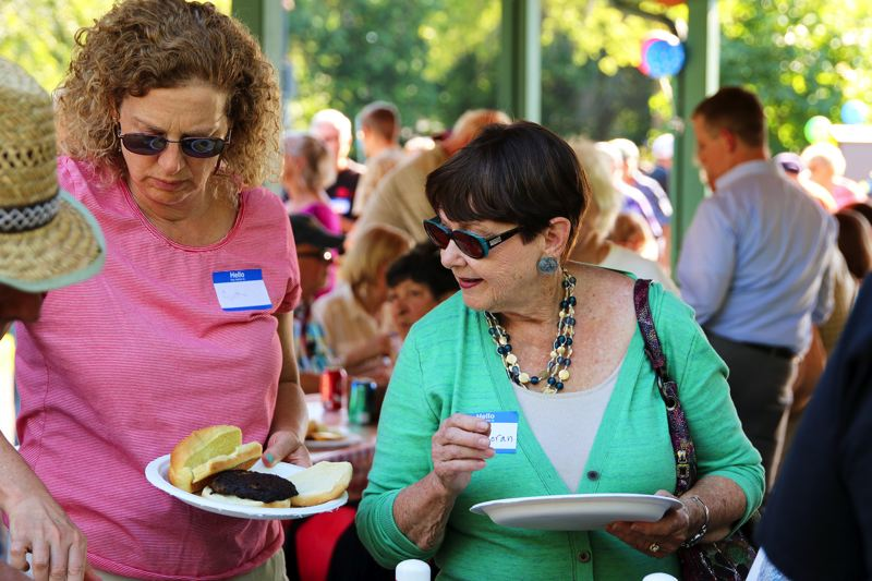 CONTRIBUTED PHOTO: CITY OF GRESHAM  - Hundreds of volunteers gathered at Main City Park on Tuesday, July 11 for a celebratory cookout honoring the city's many unpaid workers.