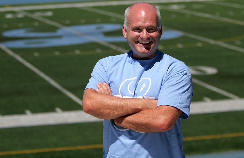 REVIEW PHOTO: MILES VANCE - Terry Moore took over as Lakeridge's athletic director on July 1 after spending nearly two decades at the school as a math teacher and coach.