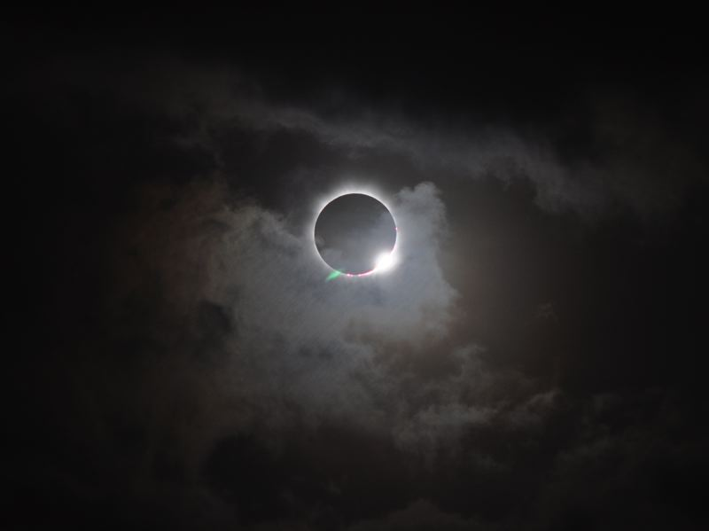 COURTESY: NASA - This could be what the Aug. 21 total solar eclipse looks like; the photo was taken of a past solar eclipse from Australia