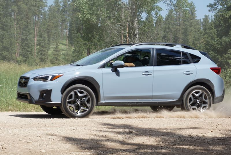 PORTLAND TRIBUNE: JEFF ZURSCHMEIDE - The 2018 Crosstrek is built on the new Subaru Global Platform. This is an entirely new chassis design that dramatically improves stability and rigidity over all types of terrain.
