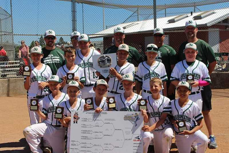 NORTH MARION YOUTH ATHLETICS - North Marion's Junior American team won the County Championship by going undefeated in four games in last weekend's tournament.
