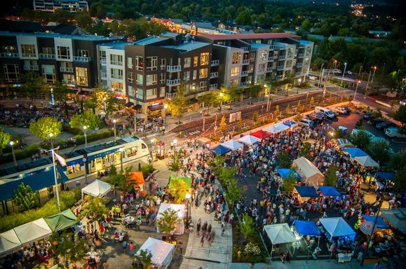 COURTESY CITY OF BEAVERTON - The Beaverton Night Market will be held from 5 to 10 p.m. this Saturday and again on August 12 at The Round.