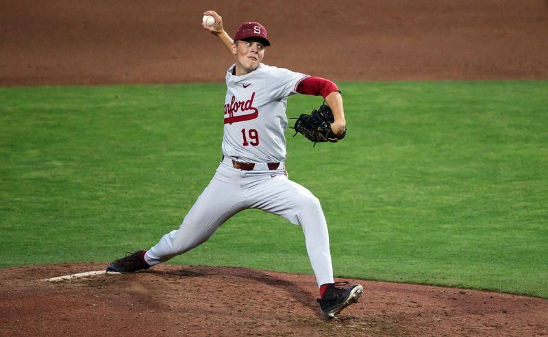 COURTESY STANFORD ATHLETICS - West Linn graduate Will Matthiessen was tough as nails as a freshman pitcher on the Stanford baseball team this year, going 3-0 with a 2.33 ERA, three saves, 32 strikeouts and just nine walks in 38 2/3 innings pitched.