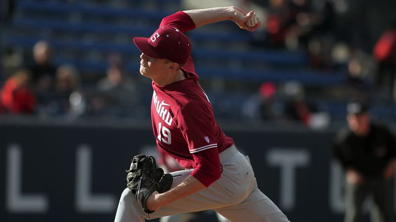 COURTESY STANFORD ATHLETICS - As well as West Linn's Will Matthiessen pitched for Stanford in 2017, he still hopes to earn playing time at either first or third base in 2018.