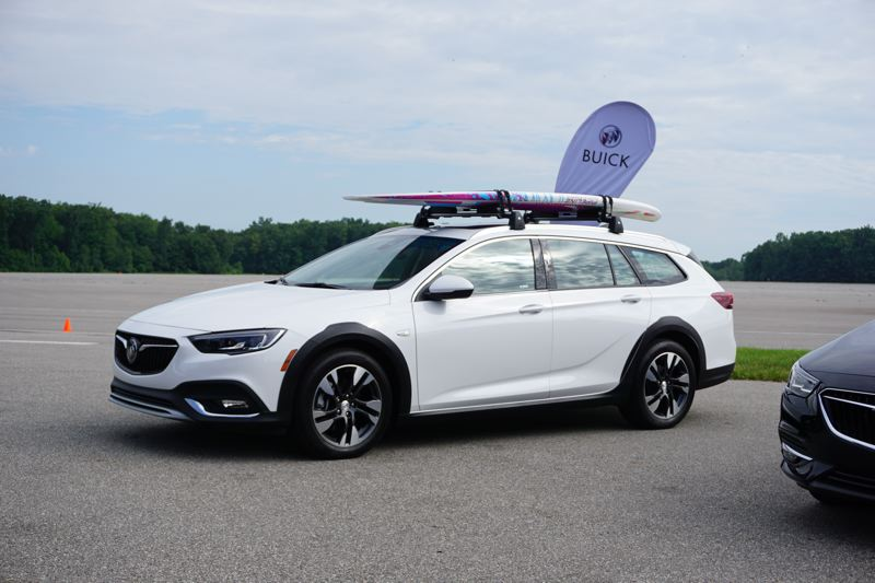 PORTLAND TRIBUNE: JEFF ZURSCHMEIDE - The TourX will be a favorite among Portland drivers for its versatile wagon styling, panoramic sunroof, and slightly raised ride height.