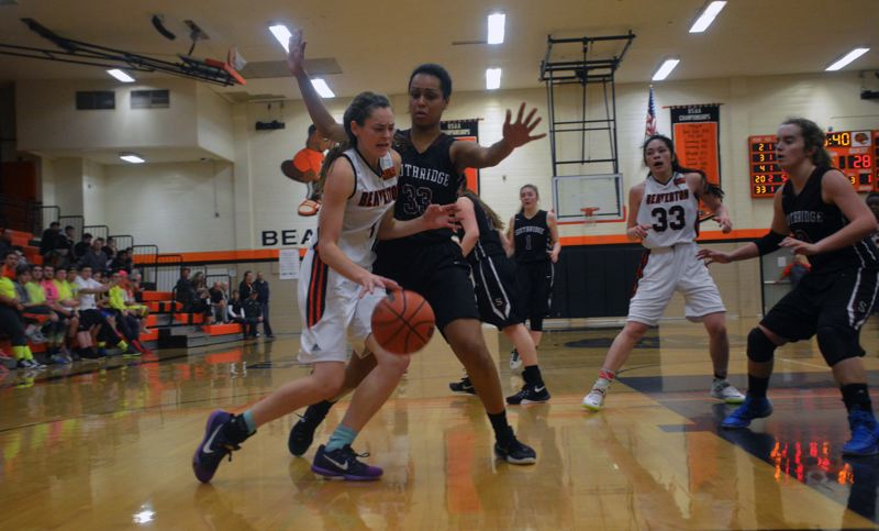 TIMES FILE PHOTO - Beaverton senior Cierra Speck figures to be one of the Beaver basketball players next season under the guidance of new head coach Kathy Adelman Naro.