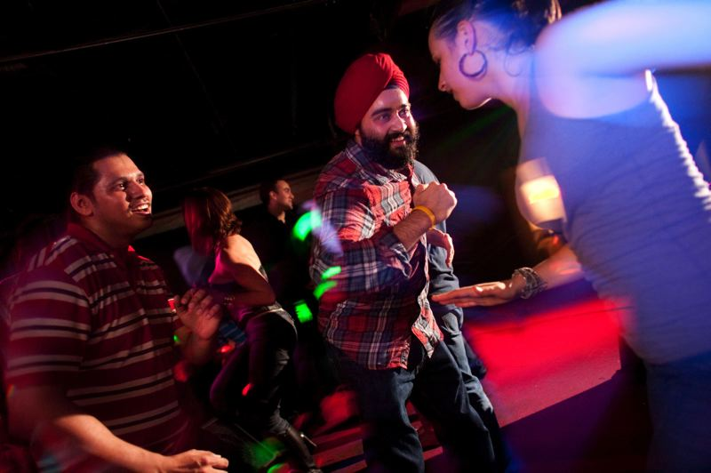 TRIBUNE FILE PHOTO: CHRISTOPHER ONSTOTT - Crowds have always been enthusiastic for the DJ Anjali and The Incredible Kid bhangra and Bollywood shows.