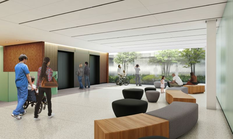COURTESY: CORKY MILLER - Renderings show updates that include 80,000 remodeled square feet and a four-floor, 260,000 building.