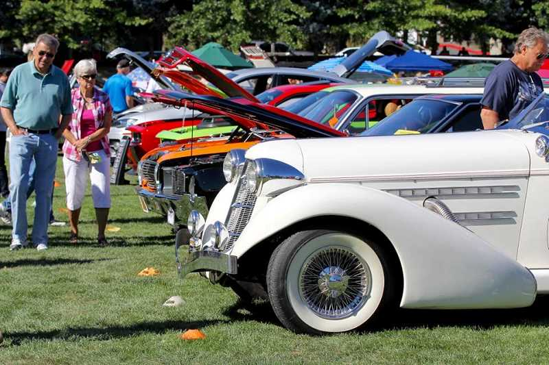 Southwest Bible Church's Sunday car show is free and open to the public.