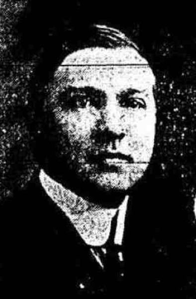 PHOTO COURTESY: AMSTERDAM EVENING RECORDER - Harry N. Bowler appeared in an Amsterdam newspaper in January 1918.
