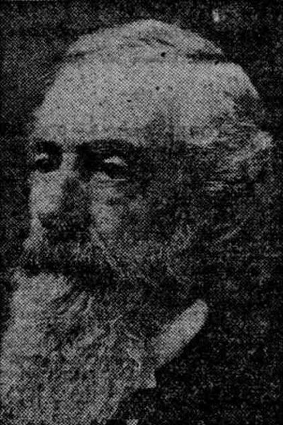 PHOTO COURTESY: SUNDAY OREGONIAN - Hector B. Campbell in a September 1911 photograph.